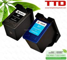 TTD Ink Cartridge C6656A C6657A for HP 56 57 cartridge