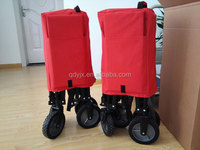 Foldable beach wagons carry up to 70kg