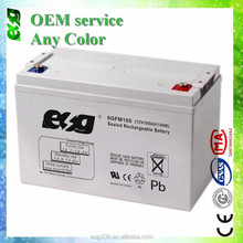 12v UPS battery 12v 100ah inverters and battery manufucturer in China