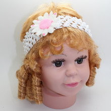 crochet headband with flower, crochet patterns for babies