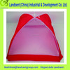 red mosquito net food cover/kitchen outdoor food cover net