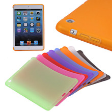 Matte soft TPU smart cover for iPad mini 1 2 3, for tablet ipad mini smart cover back