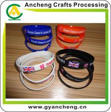 Personalised custom valentine i love you silicone bracelet for gift
