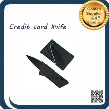 Reasonable price Black credit card knife 100pcs in stainless steel Black credit card knife