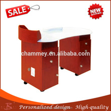 modern techniques most popular high quality nail tool table,wood wholesale fitted nail cosmetic desk