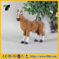 novelty 2015 adult novelty kid toy stuffed christmas horse toy