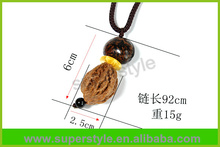 Handmade High Quality natural Colorful special Wood shape Necklace