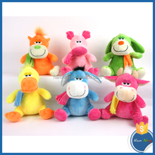 new toys 2015 love doll soft baby plush yellow duck toy stuffed yellow duck doll with scarf
