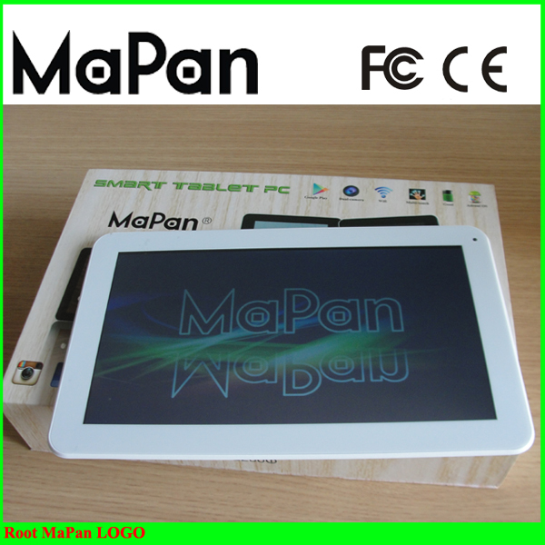 "hot 10.1"" tablet PC / Quad core android Tablet , 1024*600 , build in 8gb, 5000mah battery with WIFI / MaPan Tablet F10B"