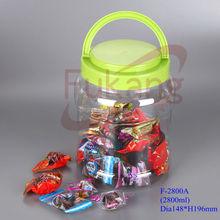 2800ml unique candy jars,2800cc unique cookie jars,unique jar