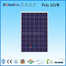 chinese solar panels price solar power for sale 225w poly high efficiency solar panel