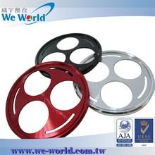 Popular design precision CNC machining anodized camera adapter ring