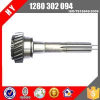 Factory price yutong bus qj805 transmission Spigot Shaft for KINGLONG bus 1280302094/1280 302 094