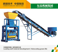 Dongyue brand hot sale QT40-1 manual cement concrete hollow block making machine