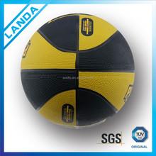 custom colourful street rubber basketball size 7