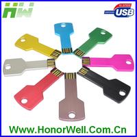 Cheap gift usb key, metal key usb, bulk usb flash dirver