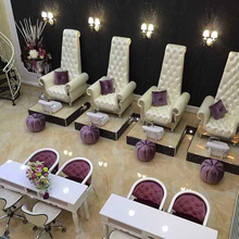 danxueya- luxury nail salon chair/ modern new fashion design spa pedicure furniture/luxury styling chair salon furniture