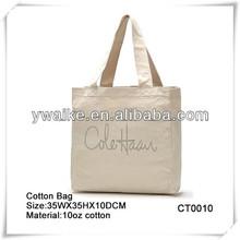 Natural Reusable Cotton Canvas tote Bag