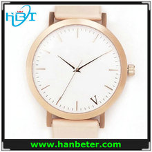 Classic mechanical automatic movement stainless steel leather winner watch automatic,watch for men