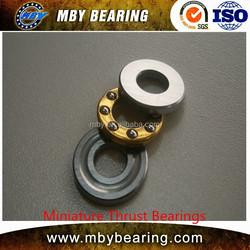 High axial load flat F4-10 thrust ball bearing