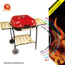 BSCI factory Durable big size Hamburg charcoal Barbecue Backyard bbq grill
