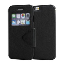 LZB wallet case with pu leather flip mobile phone cover for Micromax BOLT Q324