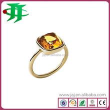 latest fashion single stone jewelry ring big stone ring designs
