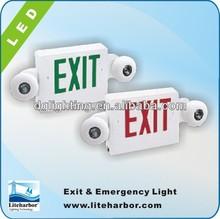 cULus listed 90 Minutes Battery Backup LED Exit & Incandescent Emergency Unit for market
