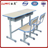 Commercial cheap price wood modern school desk and chair