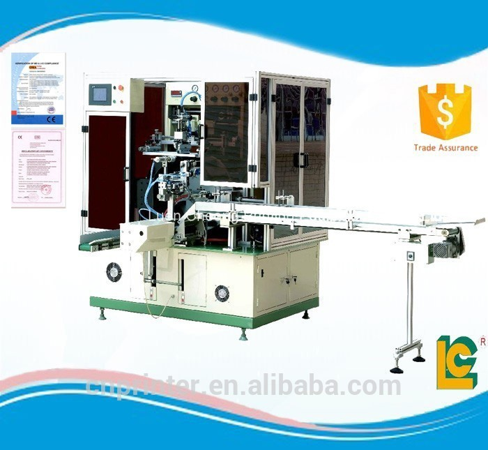 Rotary Multi Color Screen Printing