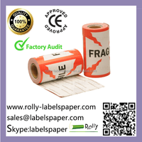 High quality customized fragile labels