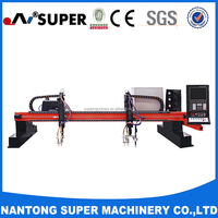 China Manufacturers CNC Gantry Plasma Cutting Machine For Steel With Thermal Dynamics Cutter