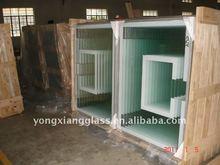 Steel framed tempered glass basketball backboard backboard
