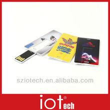 Mini Clip Name Card Logo Branded USB Flash Memory