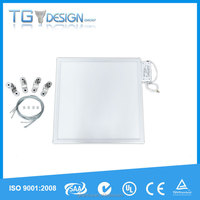 Aluminum frame shenzhen offer 36W 48W battery powered led panel light 60x60, 4x18w T8 replacement