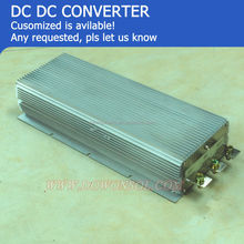 High Power 2KW 12v to 24v dc/dc converter 80A for dc car Air Conditioner waterproof