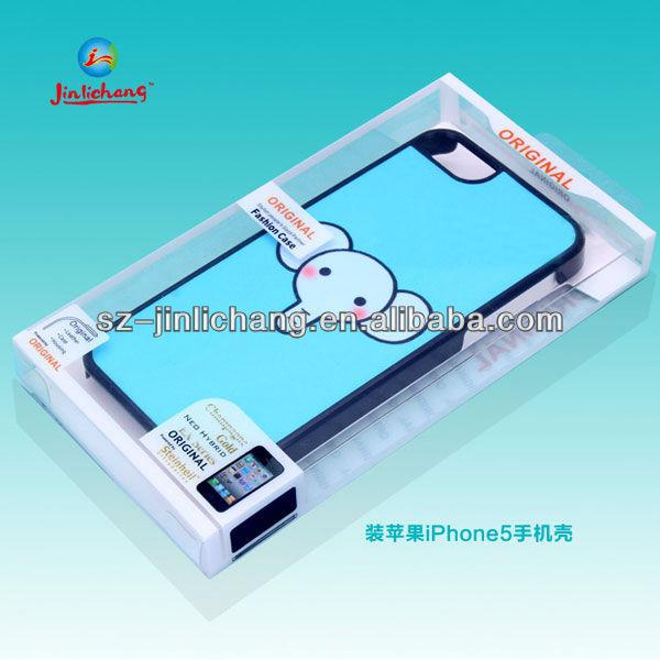 Caixa de plástico transparente para a caixa do telefone