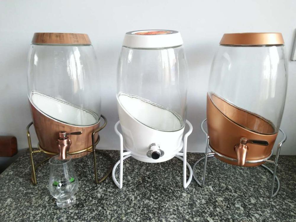 5l distributeur de boissons en verre avec robinet pi ces de fontaine d 39 eau d 39 eau id de produit. Black Bedroom Furniture Sets. Home Design Ideas