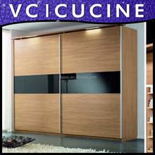 Indian style modular wood cupboard design