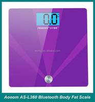 High quality OEM Bluetooth medical personal use body scale measure fat