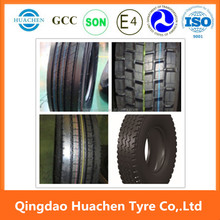 295/80R22.5 tubeless tyre for truck qingdao inflatable tire display