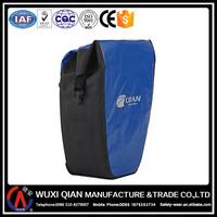 Oxford TPU coating traveling Tarpaulin waterproof bag motorcycle bicycle pannier rack bag