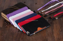 Wholesale flip leather cell phone case for iphone 6 / funky 5.5 inch mobile phone case