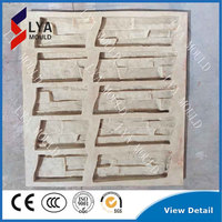 Easy operation cultured Interlocking Thin Stone Veneer Panel for exterior