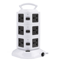 high quality 3 layers portable power outlet