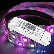 Bincolor BC-834 DC12V-24V LED RGBW light DMX 512 to pwm DMX decoder controller