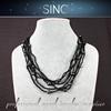 korean pearl necklace pearl pendant necklace black pearl model ship