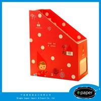 zipper document holder decorative pp file folder holder plastic file box case with handle