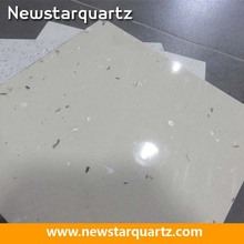 Artificial quartz, white composite stone, quartz composite tile
