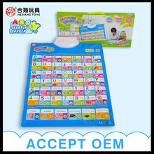 Russian language 13 in 1 learning charts HX0261oem factory china
